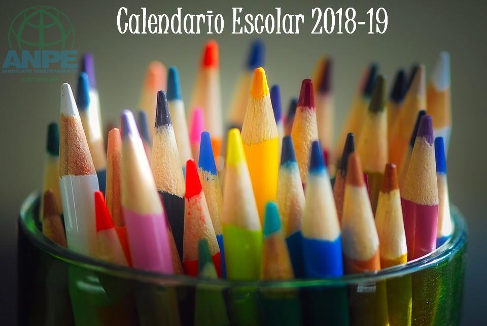 Calendario Escolar Gijon.Calendario Escolar 2019 2020 Noticia